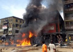 Mournful Day: Mother, Child Burnt To Death In Onitsha Tanker Fire