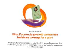#GiveHerBetaHealth: GTBank Spareheads Access To Health Insurance For Women On International Women's Day