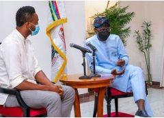 Mikel Obi Visits, Lauds Sanwo-Olu