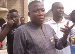 Sunday Igboho: Armed Cops Pursue Yoruba Nation Supporters From Court